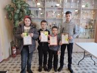 Новогодний турнир по шашкам и шахматам