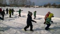 Лыжные гонки , среди воспитанников детского сада